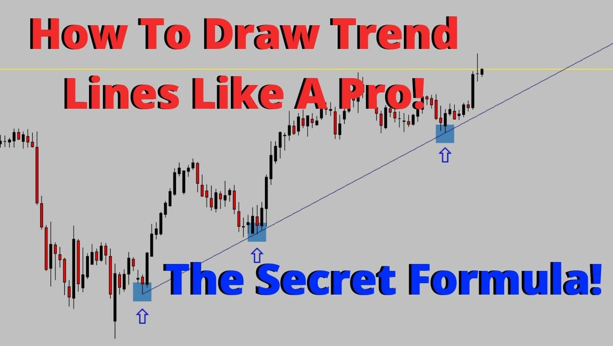 The correct way to draw trend lines