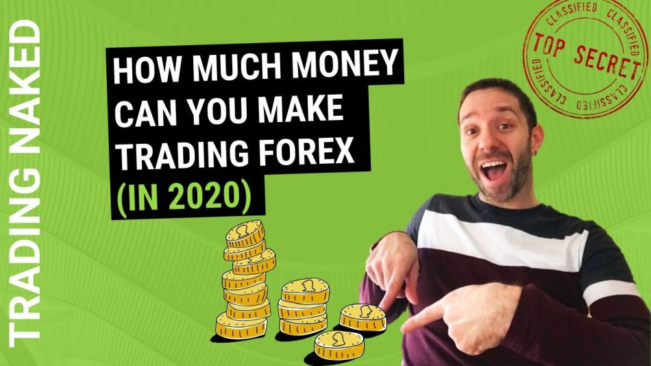 How much money can you make trading forex