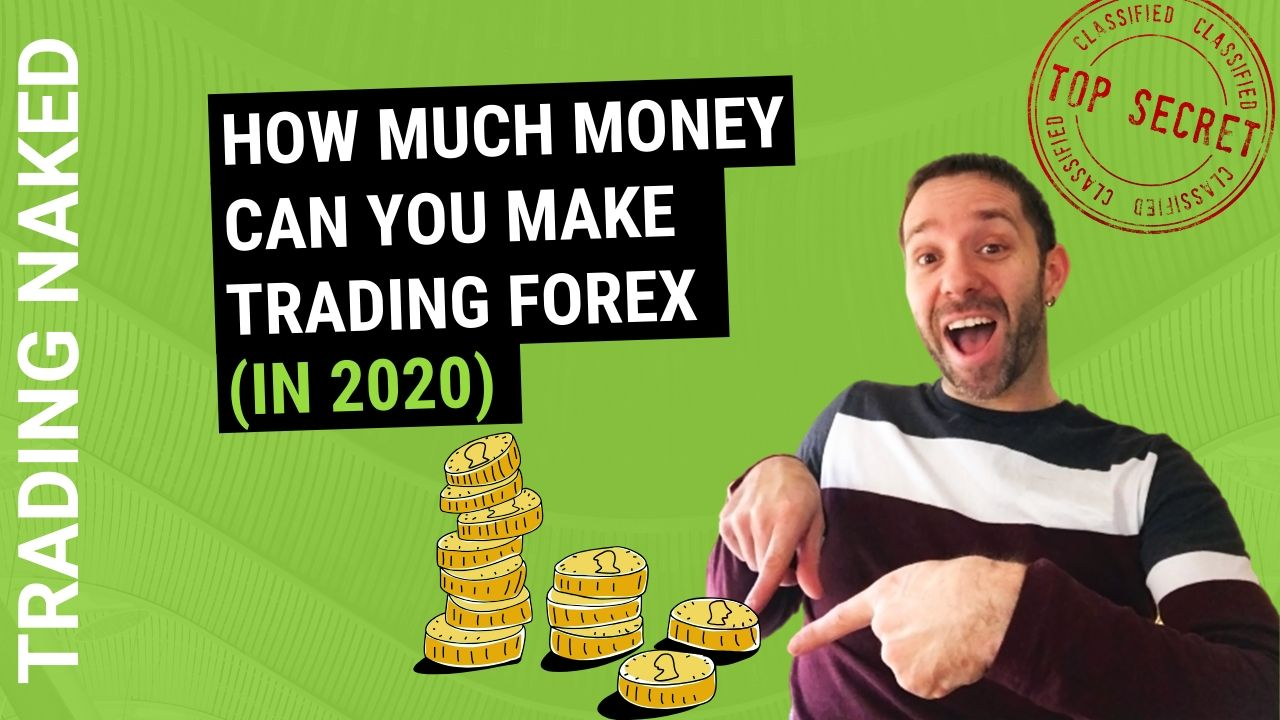 How much do professional forex traders make